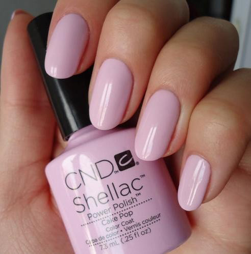 cnd shellac nail gel polish
